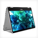 "ASUS VivoBook Flip 14 Thin and Light 2-in-1 Laptop, 14"" HD Touchscreen, Intel Celeron N4020..."