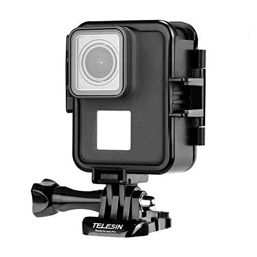 Eyeon Orizzontale e Verticale Custodia Protettiva Telaio con Fibbia a Sgancio Rapido e Vite per GoPro Hero 2018 Hero 7 Hero 6 Hero 5 Action Cameras