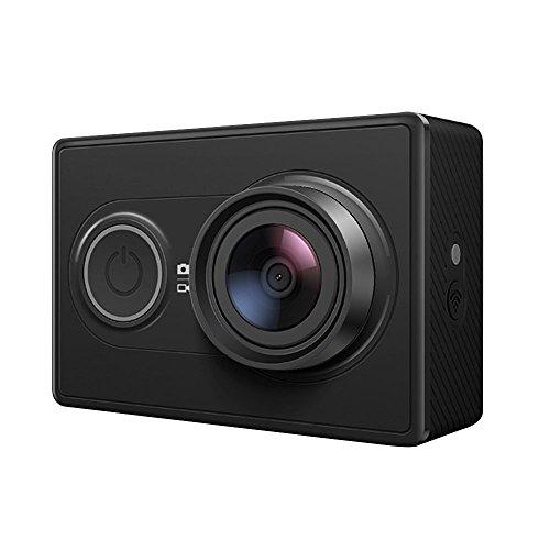 YI Technology YI アクションカメラ Black フルハイビジョン /1600万/アンバレラ製プロセッサ/ソニー製イメージセンサー 【日本語対応】【正規サポート付き】 88025