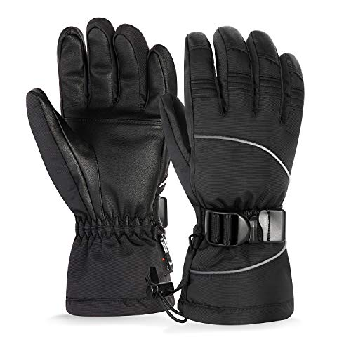 Unigear Skihandschuhe, Top Wasserdicht, Winterhandschuhe, Touchscreen Handschuhe, Ski/Snowboard Handschuhe für Herren und Frauen, MEHRWEG