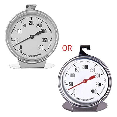 HUIJUAN Termometro da forno in acciaio inossidabile da 50-400 gradi Calibro alto Misura speciale...