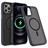 CYRILL by Spigen   シリル 半透明 Magsafe iPhone 12 Pro Max 用 ケース 磁石 超 米軍MIL規……