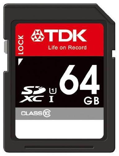 【Amazon.co.jp限定】TDK SDXCカード 64GB Class10 UHS-1対応 5年保証 フラストレーションフリーパッケージ (FFP) SDXC10U-64G-FFP