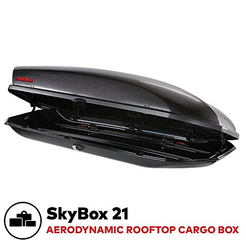 Yakima SkyBox Aerodynamic Rooftop Cargo Box
