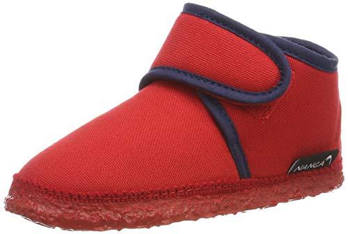 Nanga Luna, Pantofole a Collo Basso Unisex-Bambini, Rosso (Ziegelrot 22), 23 EU