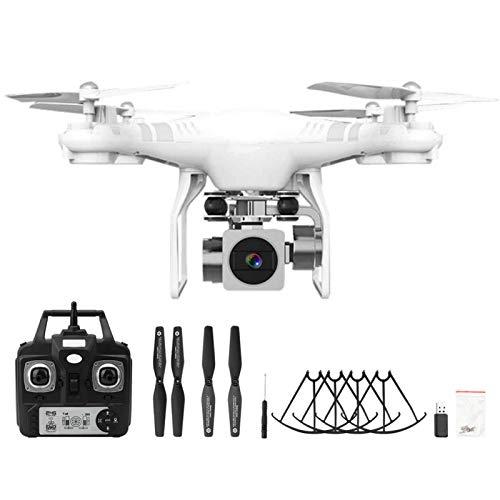 Demeras Drone RC Drone 1080p Telecamera ad Alta Definizione Drone modalit Senza Testa Telecomando Quadcopter Drone(Bianca)