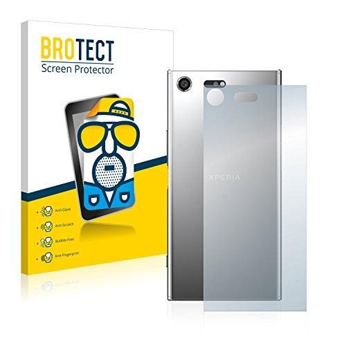 BROTECT Protector Pantalla Anti-Reflejos Compatible con Sony Xperia XZ Premium (Trasero) (2 Unidades) Pelicula Mate Anti-Huellas