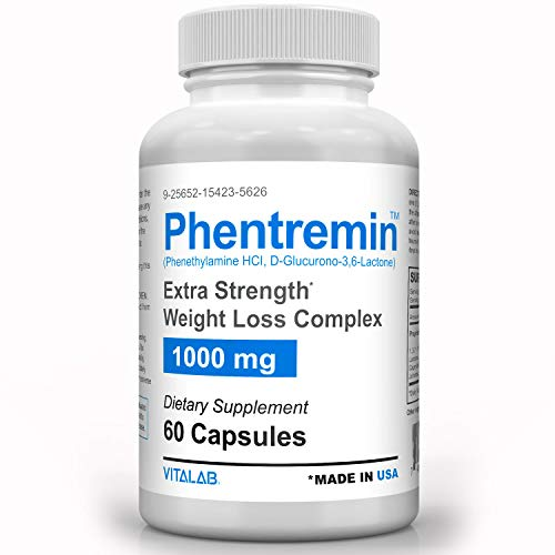 Phentremin, Extra Strength Weight Loss Complex, Best Appetite Suppressant, 37.5, 60 Capsules 4