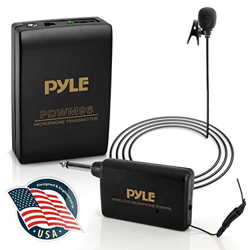 10. Pyle PDWM96 Lavalier Wireless Professional Microphone