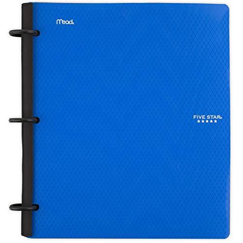 Five Star Flex Hybrid NoteBinder, 1 Inch Binder with Tabs,...