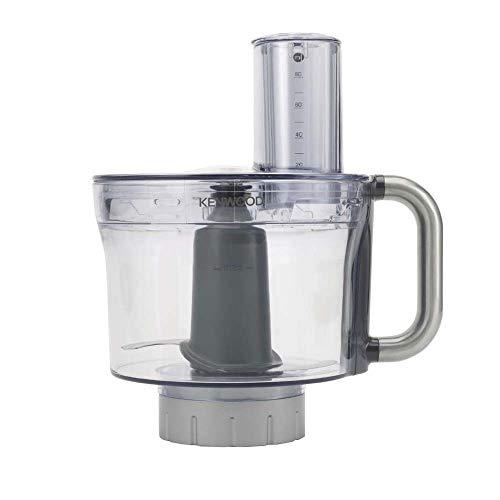 Kenwood KAH647PL Accessorio Robot da Cucina, Food Processor per Impastatrice Planetaria, 2.35 litri, Tritan, Grigio