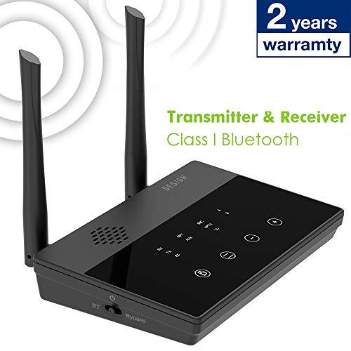 8. Besign Long Range BE-RTX Pro Bluetooth Transmitter