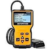 MOTOPOWER MP69033 Car OBD2 Scanner Code Reader Engine Fault Code Reader Scanner CAN Diagnostic Scan Tool for All OBD II Protocol Cars Since 1996