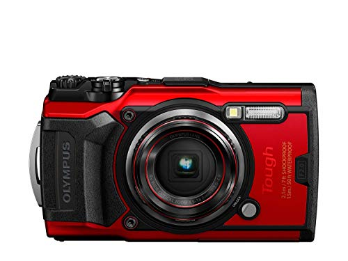 Olympus Stylus TG-6 Tough Fotocamera, Rosso