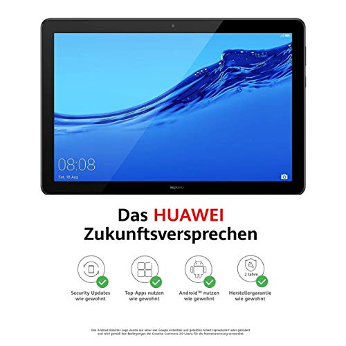 Huawei MediaPad T5 WiFi Tablet-PC 25,6 cm (10,1 Zoll), Full HD, Kirin 659, 3 GB...