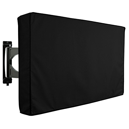 KHOMO GEAR Outdoor TV Cover - Panther Series - Universal Weatherproof Protector for 40 - 42 Inch TV - Fits Most Mounts & Brackets