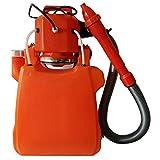 GREYK Pulverizador De Mochila Eléctrico De 3.6 Galones A Batería con Boquillas para Césped De Jardín, Rojo Anaranjado