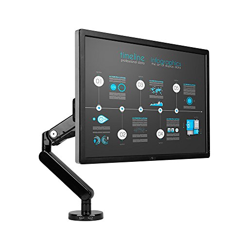 Loctek フルモーションガス圧式モニターアーム USB3.0ポート付き 10-30インチ対応 D8 2020年に買いたいと思っているもの欲しいもの一覧!生活を快適にするため、新しいことに挑戦するためのものばかり!