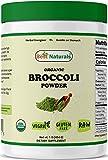Best Naturals Certified Organic Broccoli Powder 1 Pound (454 Gram), Contains Naturally Occurring Sulphoraphane, Fiber, Amino Acids, Antioxidants and Flavonoids