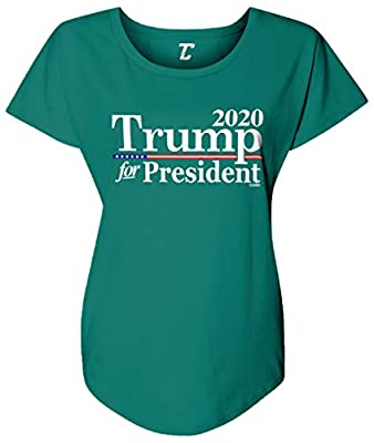 Looking for the perfect t-shirt to show your support? Look no further! This great Trump For President 2020 - Re-Election Women's Dolman is a comfortable, affordable way to express yourself. Whether purchasing for a Trump supporter, republican, or con...