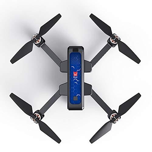 vrsupin0 Drone Pieghevole MJX B4W con videocamera 2K - Telecamera GPS Senza spazzole Full HD GPS Registrazione Video Schermo OLED Telecomando Ritorno con Un Pulsante RC Quadricottero