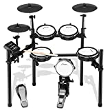 Donner DED-200 Electric Drum Set Electronic Kit with 5 Drums 3 Cymbals, Electric Drum, Audio Line, Drum Stick