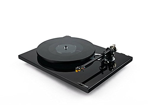 Rega RP6 Turntable with Exact 2 Cartridge, RB303 Tonearm, TTPSU Power Supply, Dust Cover (Gloss Black)