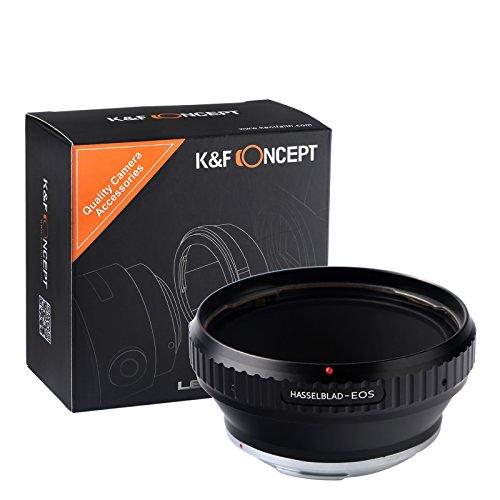 K&F Concept マウントアダプター Hasselbladレンズ- Canon EOSカメラ装着用レンズアダプターリング Hasselblad-EOS (HB-EOS)マウント変換アダプター