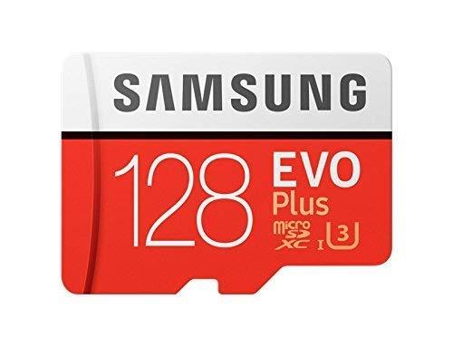 Samsung MB-MC128GA/EU EVO Plus Scheda MicroSD da 128 GB, UHS-I, Classe U3, fino a 100 MB/s di...