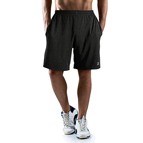 Roadbox Men's 7″ Athletic Gym Shorts Running Basketball Shorts for Men Workout