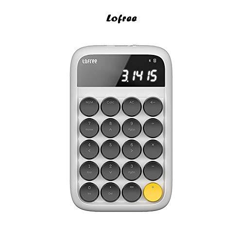 【Lofree専門店】正規品 テンキーボード 電卓 Bluetooth ワイヤレステンキーパッド 数字キーボード 電卓機...