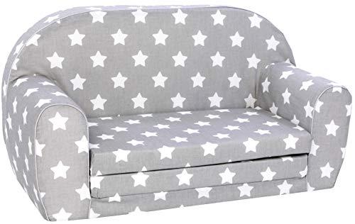 KNORRTOYS.COM Knorrtoys 68441-Kindersofa-Stars White Divano per Bambini