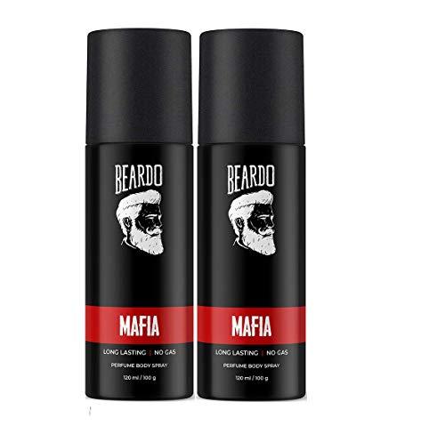 Beardo Mafia Perfume Body Spray Combo (Set of 2) | Made in India