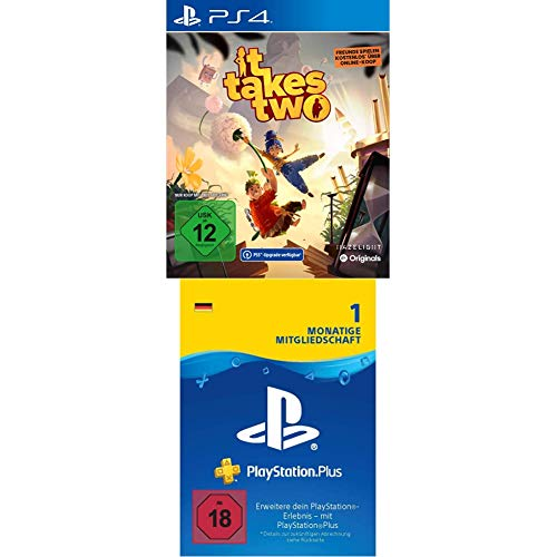 IT TAKES TWO - (inkl. kostenloser PS5 Version) - [Playstation 4] + PlayStation Plus Mitgliedschaft   1 Monat   deutsches Konto   PS5/PS4/PS3 Download Code