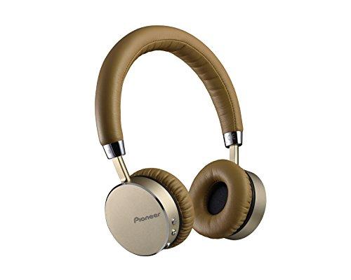 Pioneer SE-MJ561BT-T Cuffia Bluetooth con Tecnologia NFC e Microfono Integrato, Champagne