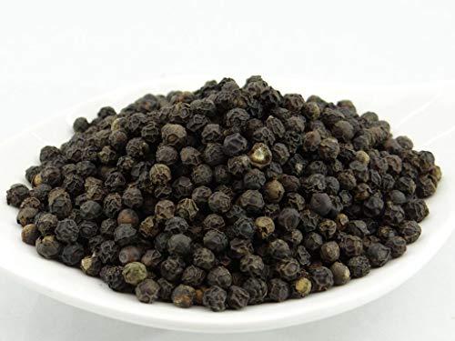 pikantum Bio Tellicherry Pfeffer | 1kg | Qualitätsmerkmal TGSEB | Gourmetpfeffer | Spätlese | für die Mühle