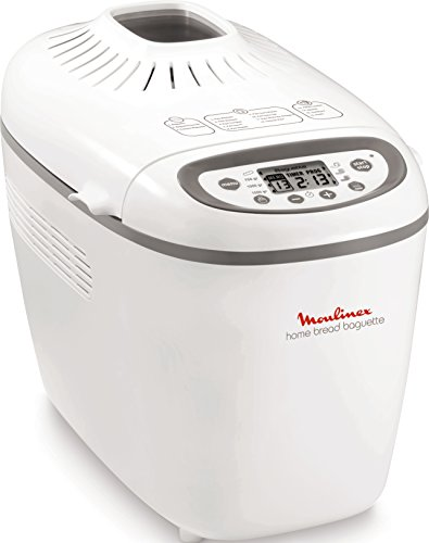 Moulinex OW610110 Machine à pain, 1650 W, 1.5 liters, Blanc