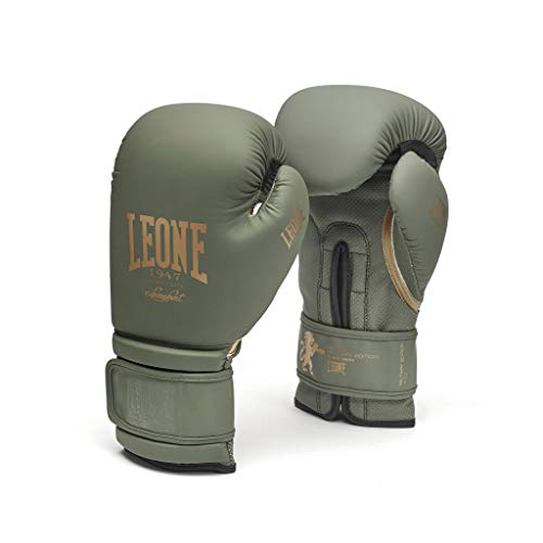 LEONE 1947 Military Edition, Guantoni Unisex Adulto, Verde, 10OZ