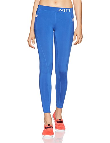 Just F by Jacqueline Fernandez Women's Sports Tights (12005_Blue_Small)