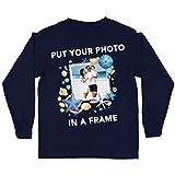 lepni.me T-Shirt Enfant Souvenirs de Vacances d'été Personnalisés Encadrez Votre Photo...