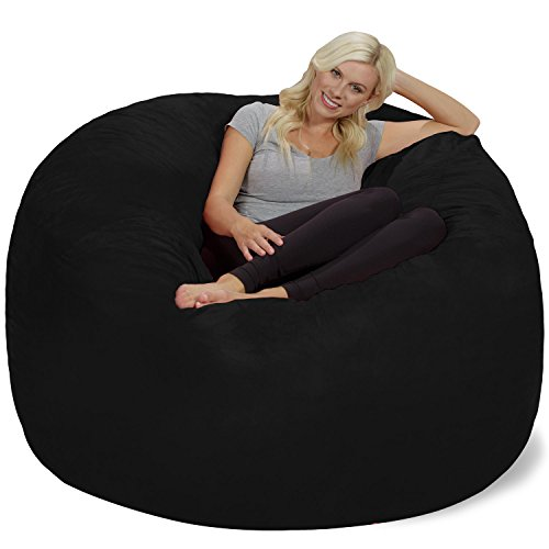 Chill Sack Bean Bag Chair: Giant 6' Memory Foam Furniture...