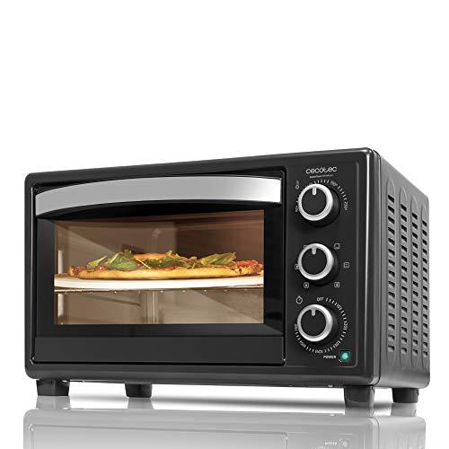 Bake & Toast 570 4pizza di Cecotec. Forno a convezione con pietra per pizza. Forno elettrico...