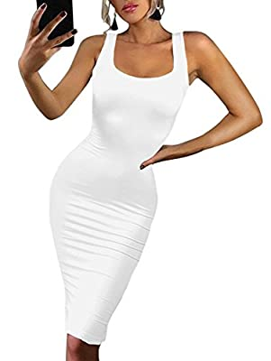 Material:Polyester and Spandex It will show your identity, your beauty, your style! Stretch fabric,Super soft and comfy,Size:S=USA 4-6,M=8-10,L=12-14,XL=16-18 it will hugs your curves perfectly and flatteringly Suitable for Party Cocktail Club Casual...