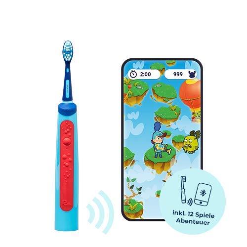 Playbrush Smart Sonic - Spazzolino elettrico a ultrasuoni per bambini, con app di gioco interattiva