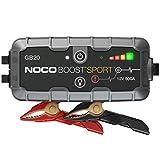 NOCO Boost Sport GB20 500 Amp 12-Volt UltraSafe Portable Lithium Car Battery Jump Starter Pack For Up To 4-Liter Gasoline Engines