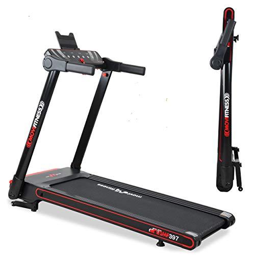 Movi Fitness Tapis roulant Professionale MF397, Pieghevole salvaspazio, Bluetooth,App Fitshow,...