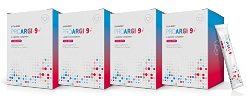 ProArgi 9 Plus Mixed Berry Single Serve (4) Boxes Pack Support Heart Health by Synergy (11.1 oz / 315g)