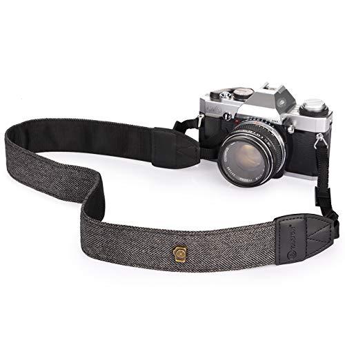 TARION L-242H tracolla fotocamera vintage cinghia fotocamera cinturino per fotocamera compatibile con fotocamere DSLR SLR