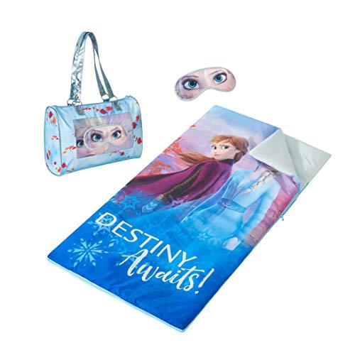 Disney Frozen 2 Sleepover Purse with Sleeping Bag and Eyemask
