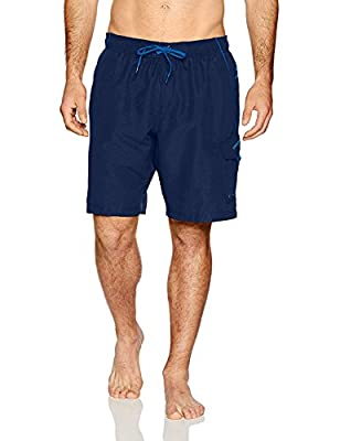 Waistband: Volley Constructed with UV Block the Burn UPF 50+ protective fabric Improved fit so over-stretched product does not decrease the UPF rating Lightweight and dries quickly Mesh liner with inside key pocket Cargo pocket features Velcro closur...